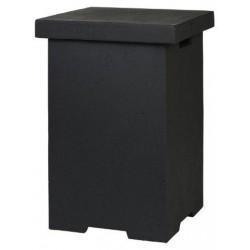 Enclosure Vierkant Zwart (bijzettafel)